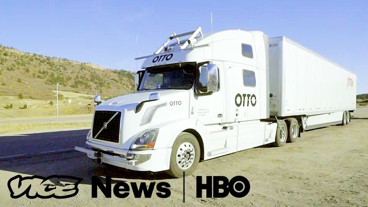 Take A Ride In One Of The World's First Self Driving Trucks: VICE News T...
