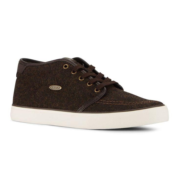 Lugz Rivington Mid Men's Steel Toe Work Shoes, Size: 11.5 D, Brown