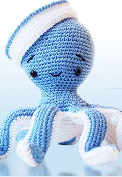 Pulpo de crochet - Amigurumi octopus