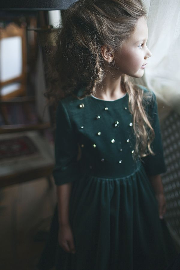 Alexandra, Emily, Maya, and Anabella by Linda Brīnums for Aristocrat Kids FW 15/16