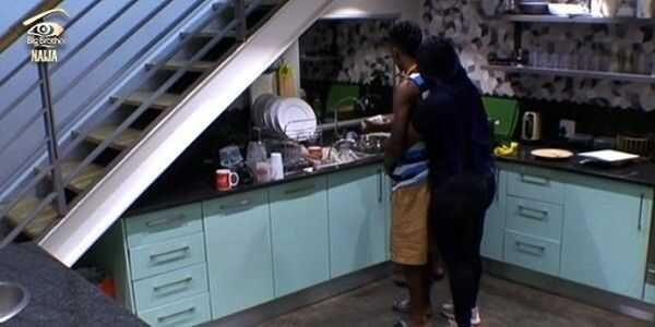 #BBNaija: Bisola and Bally sneaks into the Big Brother House to have their bath  All that happened this morning after yesterdays eviction!