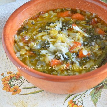 Minestrone of Vegetables - Vegetable Soup - Recipe