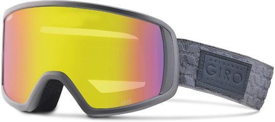 Giro Women's Gaze Snow Goggles Titanium Quilted Yellow Boost