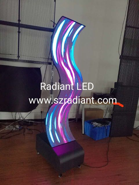 www.szradiant.com sales03@szradiant.com +8615970676159 Magnetic Flexible LED Display Screen Wall: Genius in Flexible LED screen.