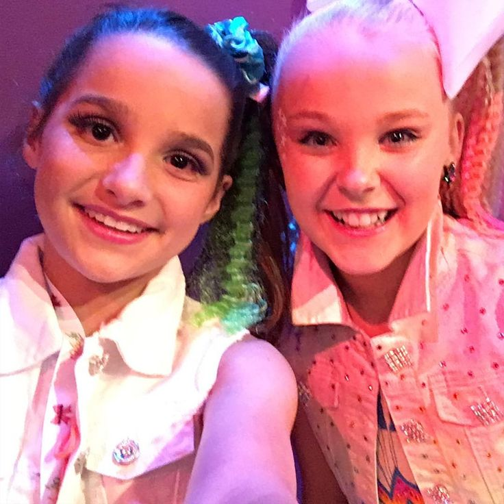 "138.1k Likes, 1,623 Comments - Annie LeBlanc  (@annieleblanc) on Instagram: ""It was so nice to meet you @itsjojosiwa Thanks for inviting us! """
