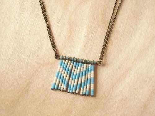 chevron necklace tutorial: Diy'S Necklaces, Diy'S Beads, Chevron Beads, Beads Necklaces, Seeds Beads, Diy'S Chevron, Chevron Necklaces, Beads Pendants, Beads Chevron
