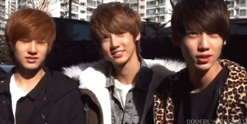 Minwoo,Youngmin and Kwangmin. Cute and Handsome Right?