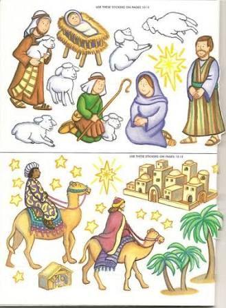 Resultado de imagen para imagenes cristianas para armar, recortar e iluminar