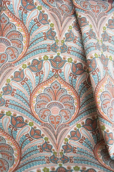 Best 25+ Coral fabric ideas on Pinterest | Upholstering chairs ...