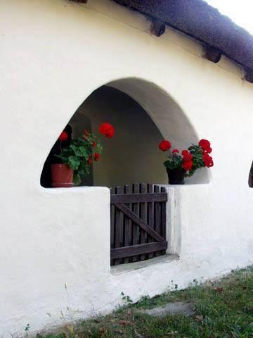 Parasztházak - Tornácos parasztház - Tájház - Sáska - Dunántúl - Hungary