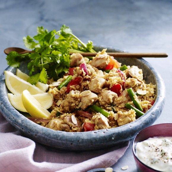 Collect this Chicken Biryani recipe by Lilydale. MYFOODBOOK.COM.AU | MAKE FREE COOKBOOKS