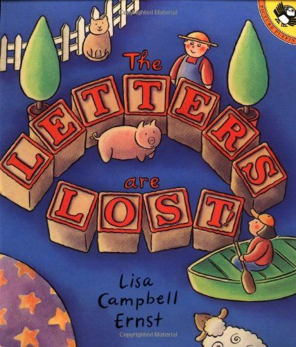 The Letters Are Lost! by Lisa Campbell Ernst,http://www.amazon.com/dp/014055663X/ref=cm_sw_r_pi_dp_Aa4msb0VERWHKHQ5