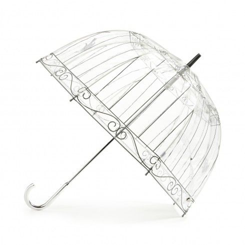 """My inner Shopping Queen yells: """"Buy this, buy this, buy this NOW!!"""" LOL Birdcage Umbrella by Lulu Guinness"""