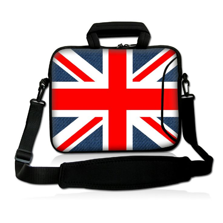 13  юнион джек мягкая сумка для ноутбуков чехол обложка вт. Карманные, Плечевой ремень Fit 12.5  13  13.3  ноутбук ноутбук