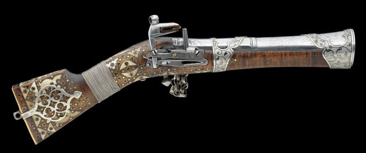 A NORTH WEST PERSIAN MIQUELET-LOCK BLUNDERBUSS, EARLY 19TH CENTURY