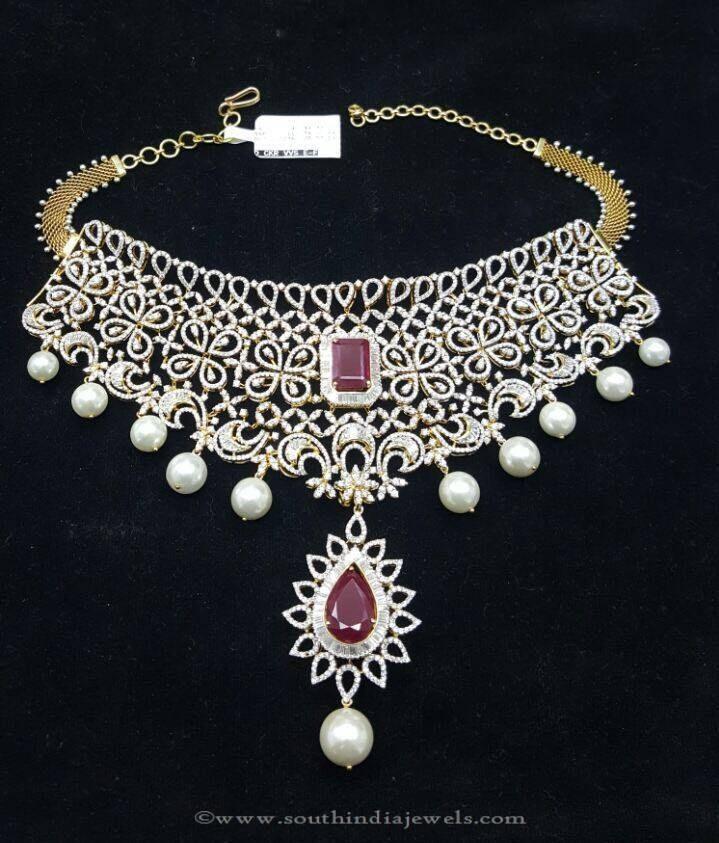 Diamond South Indian Jewellery: 219 Best Ideas About Diamond Jewellery On Pinterest