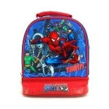 SPIDERMAN DOUBLE COMPARTMENT LUNCH BOX