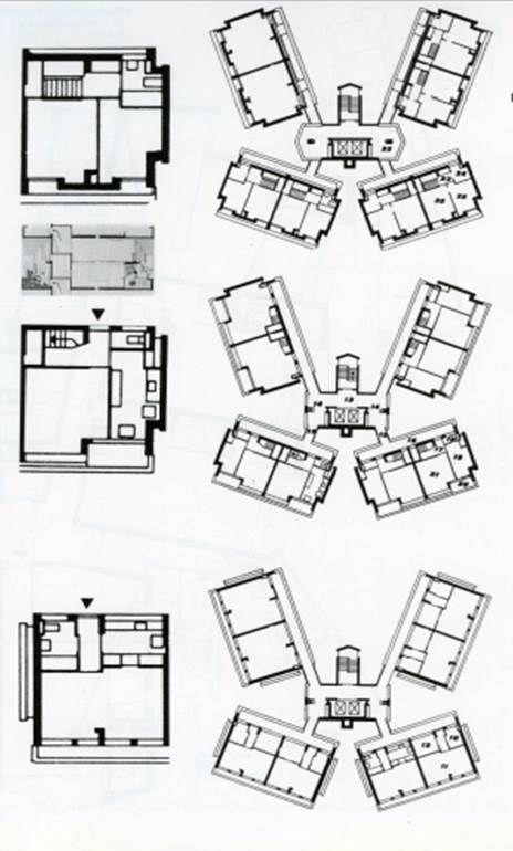 Denys Lasdun &Partners: Keeling House, Bethnal Green, London