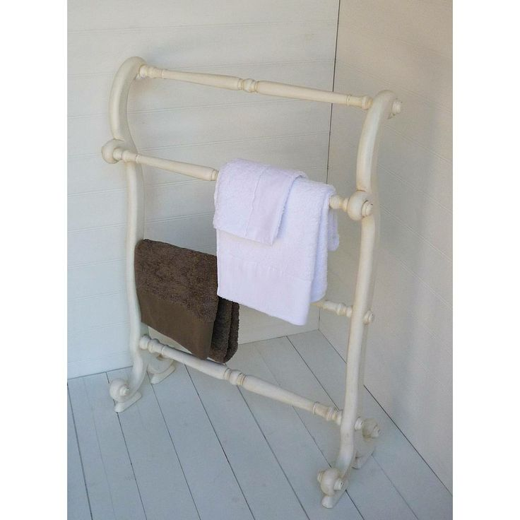 25 best ideas about wooden towel rail on pinterest for Shabby chic towel stand