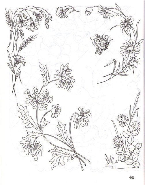 (64) Gallery.ru / Фото #4 - Рисунки для вышивки лентами и гладью - Vladikana