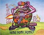Rat Fink Poster Art - View Ed Roth Rat Fink Poster Art for Sale