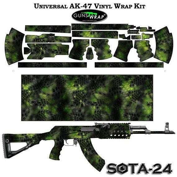 Pistol Skin Wrap Kit SOTA-21 GunsWrap Vinyl Camouflage Wrap Skin Kit
