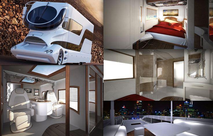 Luxurious Motorhomes Interior Million eleMMent Palazzo