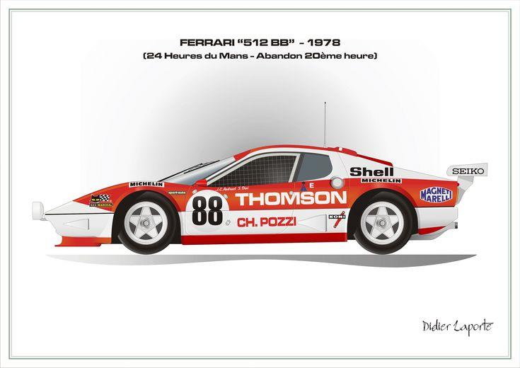 Ferrari 512 BB Le Mans 1978