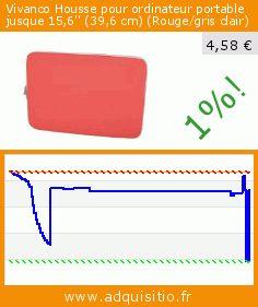 Vivanco Housse pour ordinateur portable jusque 15,6'' (39,6cm) (Rouge/gris clair) (Appareils électroniques). Réduction de 75%! Prix actuel 4,58 €, l'ancien prix était de 18,17 €. https://www.adquisitio.fr/vivanco/housse-ordinateur-1