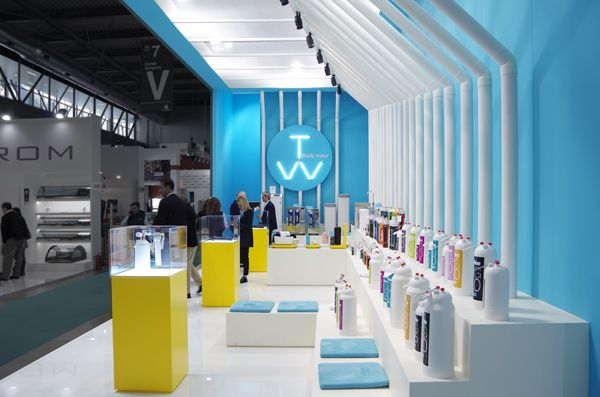 THINK:WATER design Paolo Giacomazzi www.paologiacomazzi.com Stand design for Host Fair. Milan 2017.