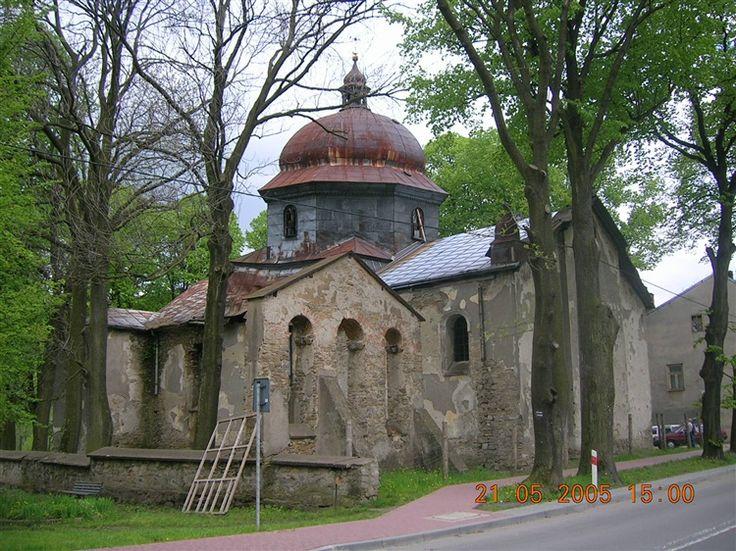 Baligród - Cerkiew greckokatolicka (1800, 1829).
