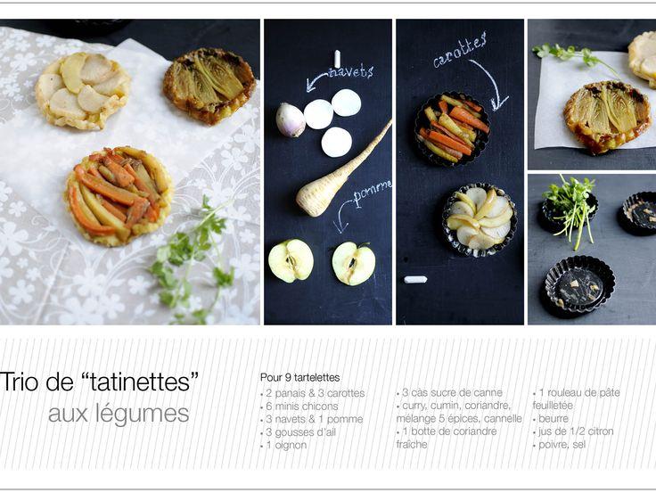 tatins de légumes