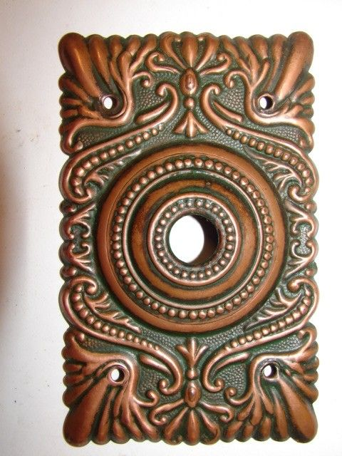 antique hardware door bells doorbells restoration old original period parts victorian & Best 25+ Doorbell cover ideas on Pinterest | Basset hound funny ... pezcame.com