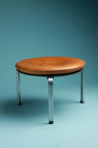 Stool, PK33. Designed by Poul Kjaerholm for E. Kold Christensen, Denmark. 1959.