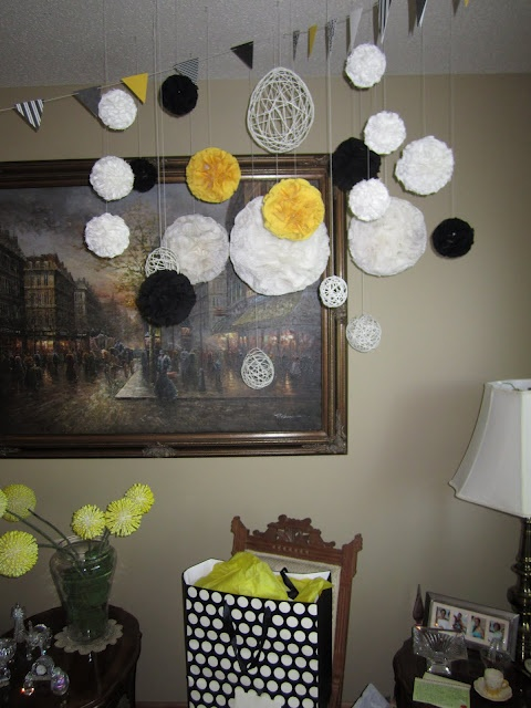 Just Laugh.: A Sweet, Yellow Bridal Shower