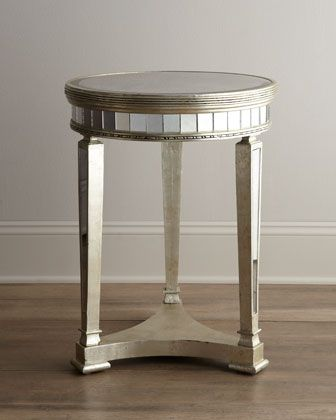 Amelie Mirrored Lamp Table. Small Guest BedroomsLiving Room ... Part 59