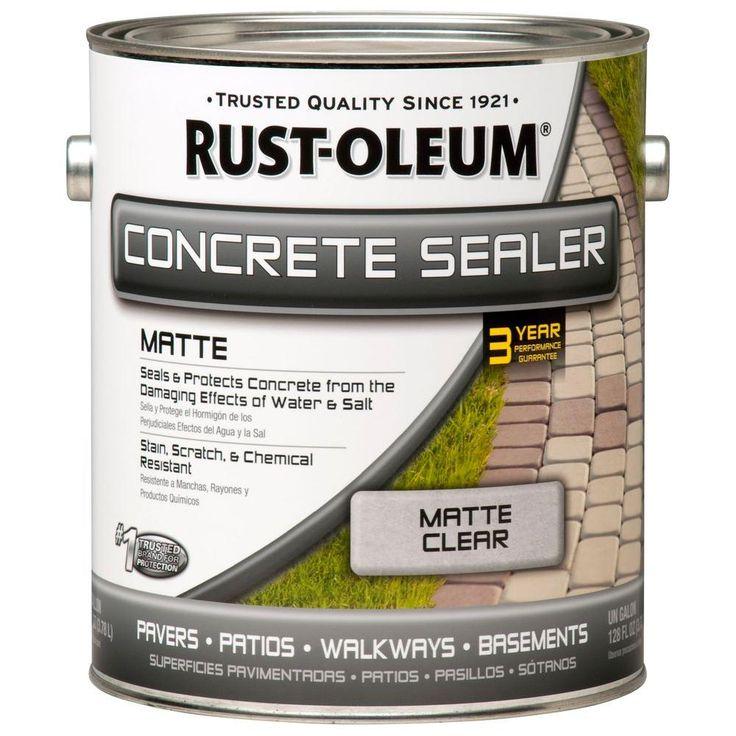 RustOleum 1 gal. Concrete Low Lustre Sealer (Case of 2