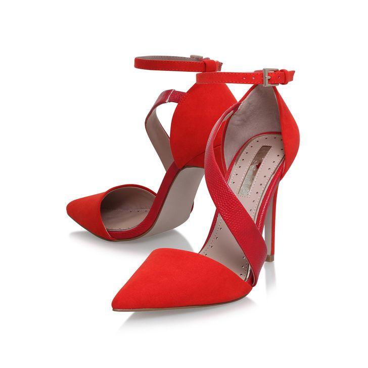 Arielle Red High Heel Court Shoes By Miss KG | Kurt Geiger