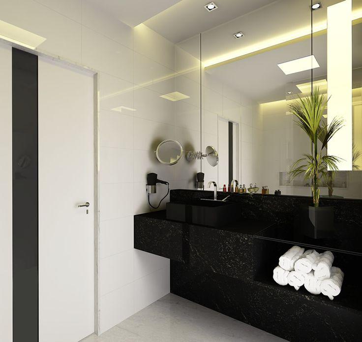 decoração banheiro suite  INTQuarto Casal  Pinterest  Bath and Studio -> Decoracao Cuba Banheiro
