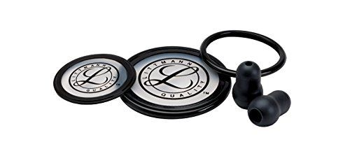 3M Littmann 40003 Cardiology III Stethoscope Spare Parts Kit, Black - 3M Littmann Stethoscopes offers the high quality that medical professionals expect, and each replacement part and accessory meets the same demanding standards. Conveniently packaged in kits that correspond to our stethoscope models, Littmann stethoscope replacement parts and accessories make repa...
