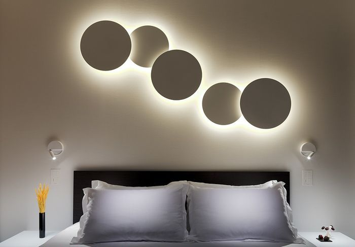 Wohnideen-Wandgestaltung-Maler - Scouting Hotelzimmer-Design in Barcelona.