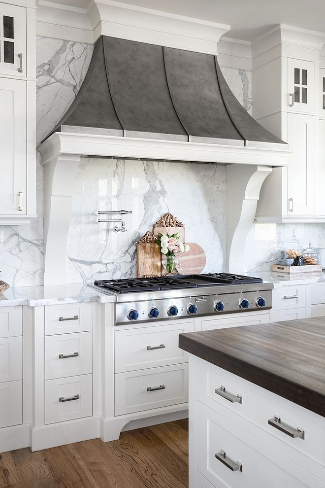 French Hood Kitchen Fan Is A Custom Stainless Steel With Patina Finish Lied Frenchhood