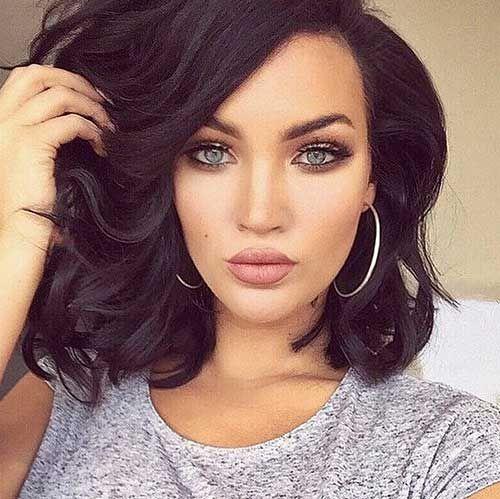 cool 15 Popular Brunette Bob Hairstyles //  #Brunette #Hairstyles #Popular