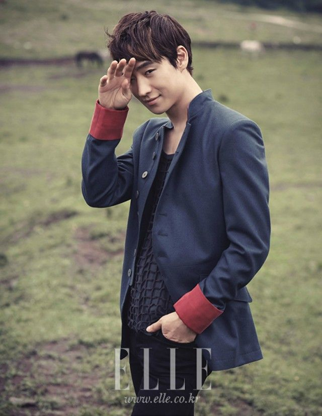 aigoo!! Lee Je Hoon - Elle Magazine September Issue '12