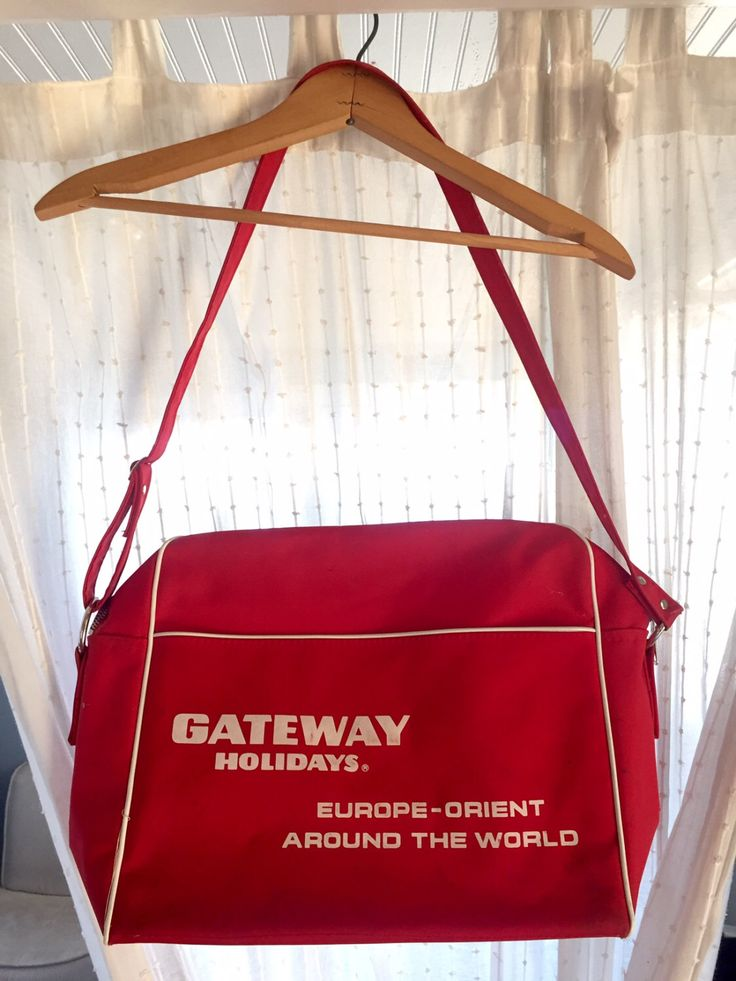A personal favorite from my Etsy shop https://www.etsy.com/listing/470202301/vintage-gateway-holidays-travel-bag