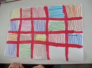 Linhas verticais e linhas horizontais