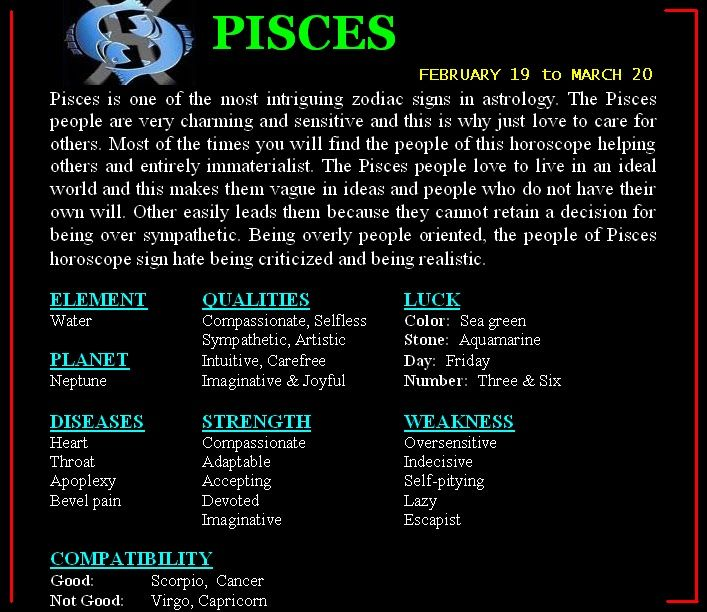 Pisces to pisces compatibility