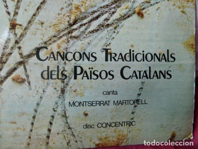 Discos de vinilo: CANCONS TRADIONALS DELS PAISOS CATALANS CANTA MONSERRAT MARTORELL -PORTADA A.TAPIES - Foto 2 - 99170195
