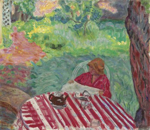PIERRE BONNARDSous L'Arbre, Vernonnet, 1915