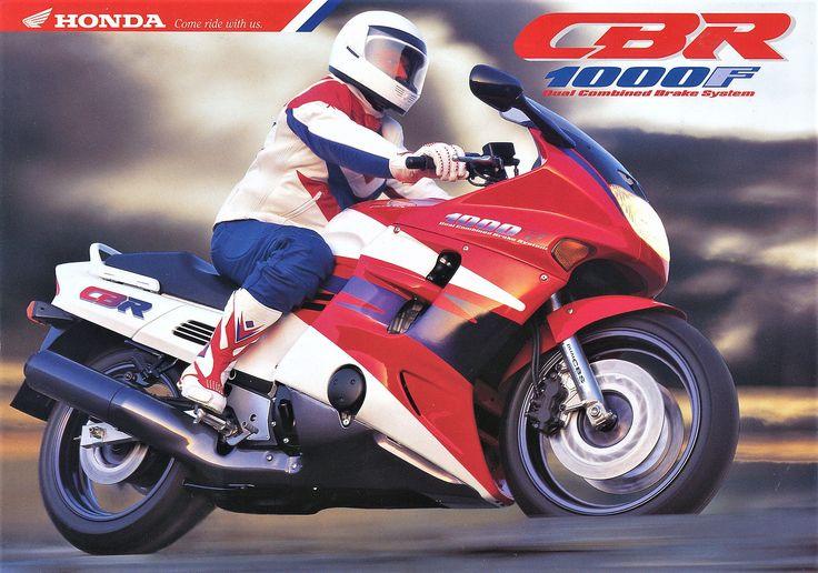 Honda CBR 1000F (1993) ad.